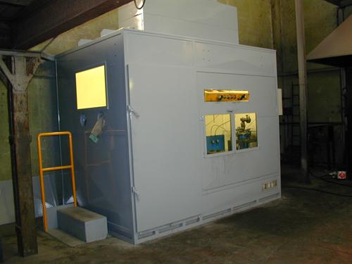 Cabine fonoisolanti: stop inquinamento acustico in fabbrica