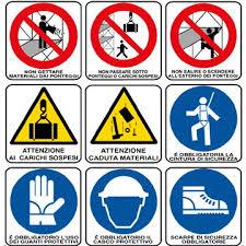 Chiarimenti sulla segnaletica di sicurezza